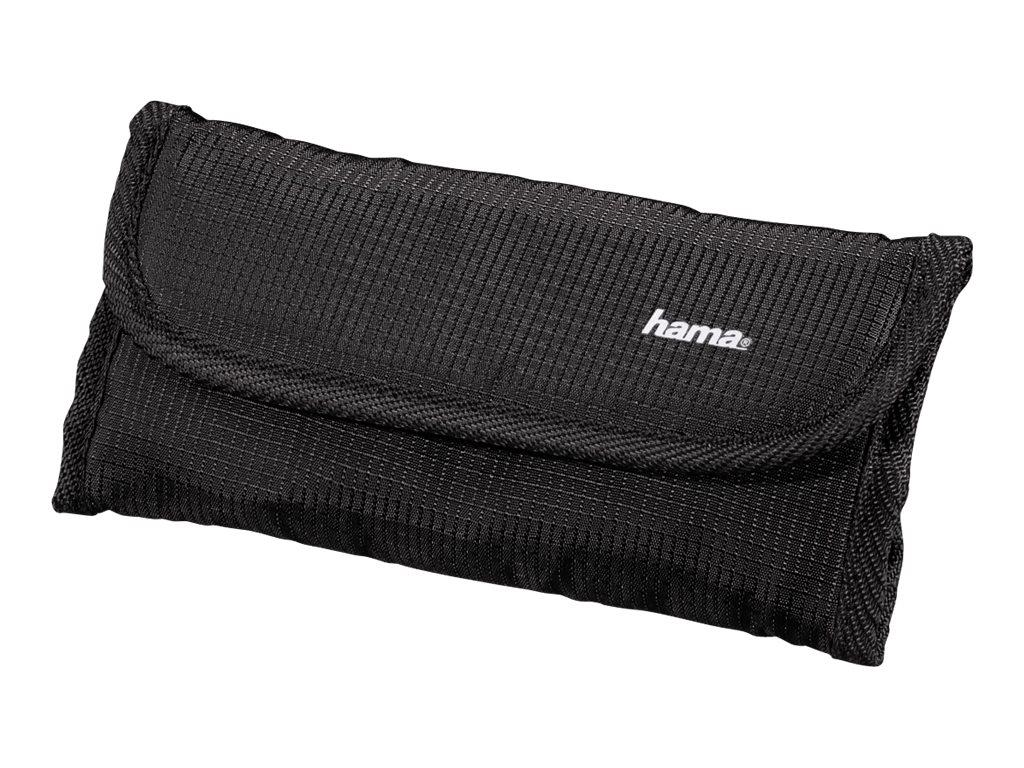 Hama Rexton - Tasche für 6 Objektivfilter - PolyTex - Schwarz