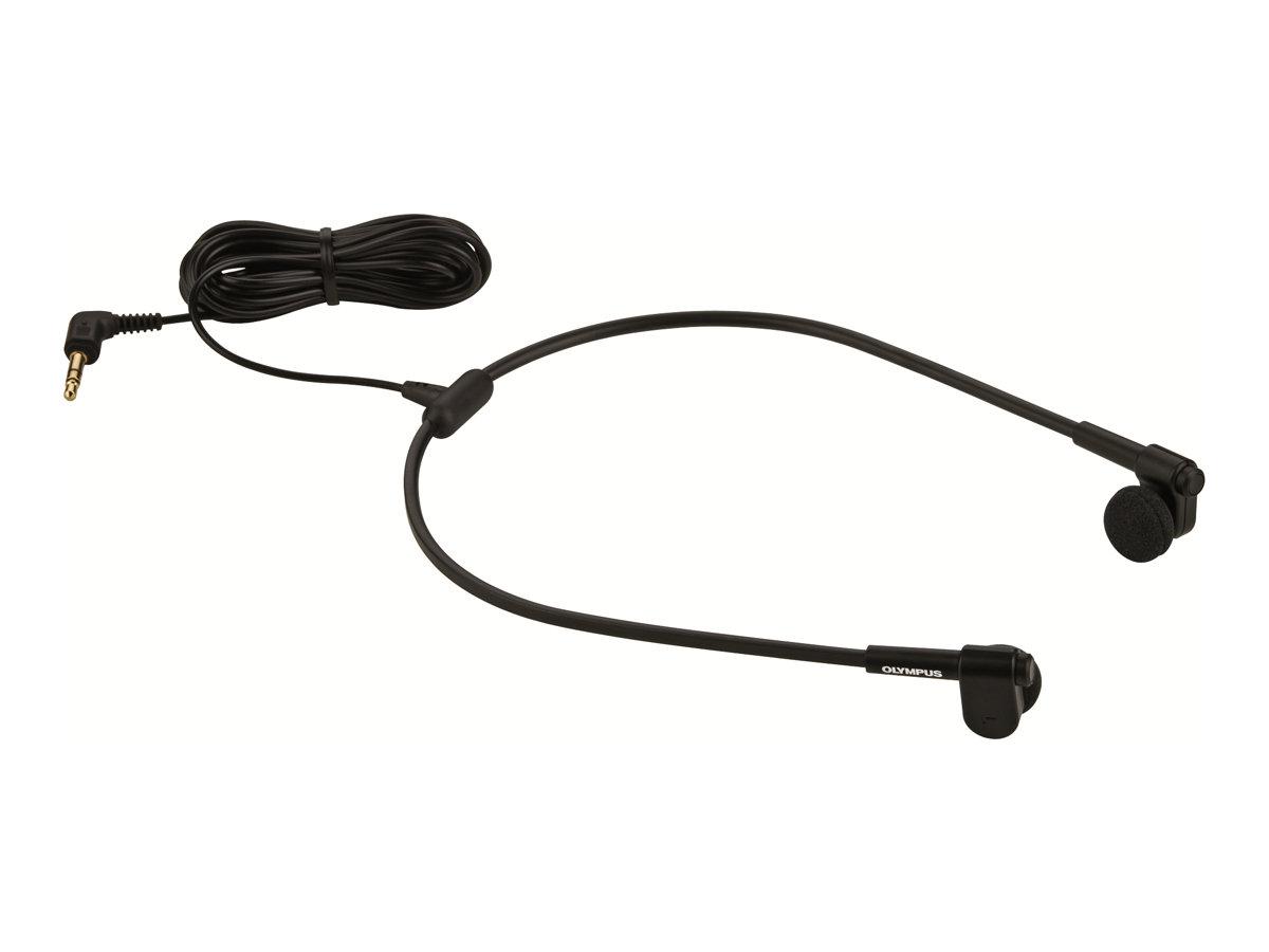 Olympus E-62 - Headset - unter dem Kinn - kabelgebunden - für Olympus DS-5000, DS-5000iD