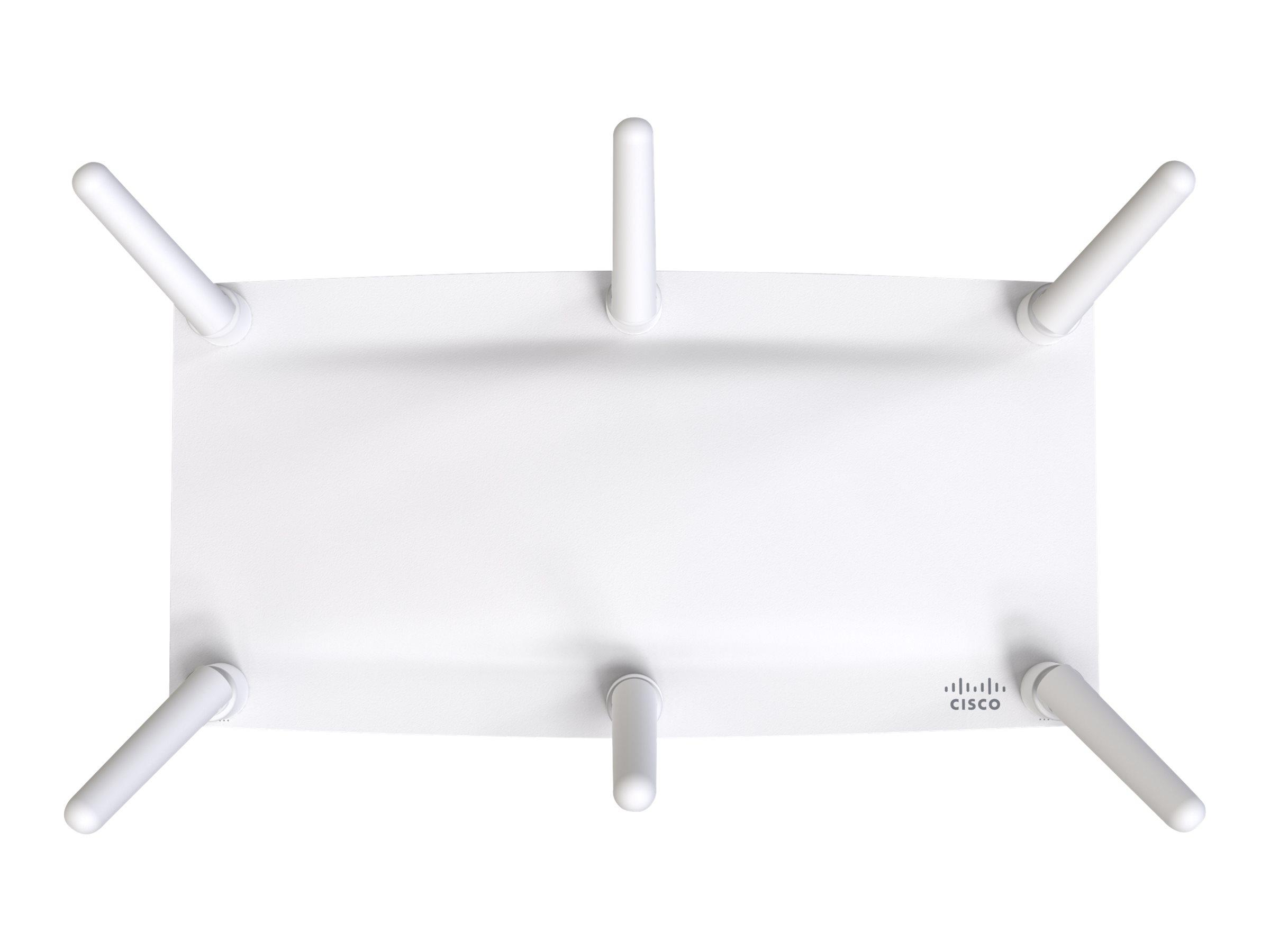 Cisco Meraki MR46E - Funkbasisstation - 802.11ac Wave 2, 802.11ax - Wi-Fi - Dualband