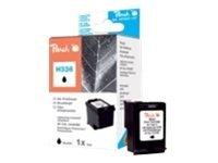 Peach H336 - 5 ml - Schwarz - Tintenpatrone (Alternative zu: HP 336) - für HP Photosmart 25XX, C3173, C3175, C3193, C3194, C4110