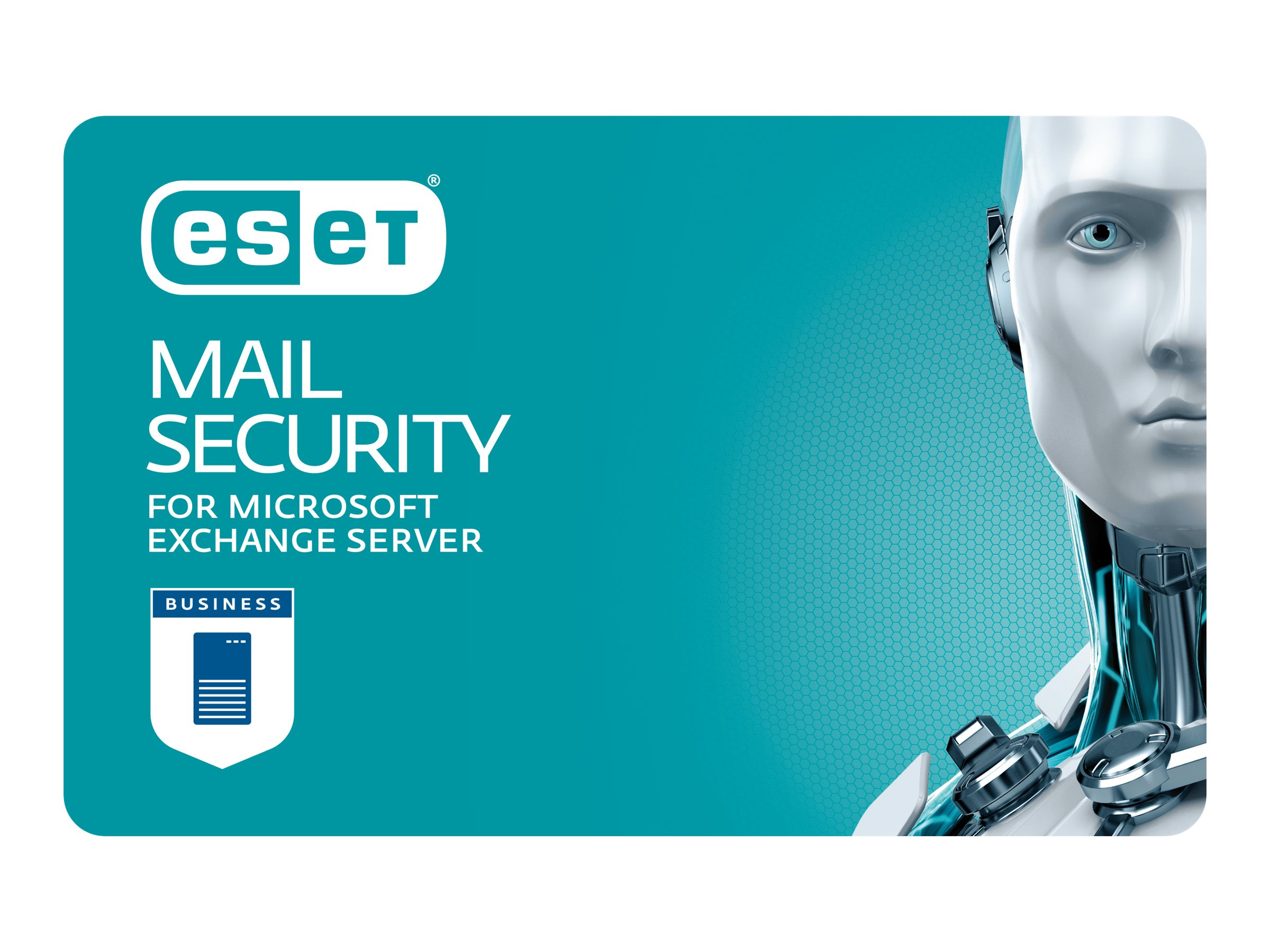 ESET Mail Security For Microsoft Exchange Server - Abonnement-Lizenz (2 Jahre) - 1 Benutzer - Volumen - 250-499 Lizenzen - Win
