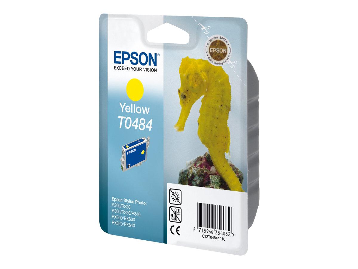 Epson T0484 - 13 ml - Gelb - Original - Blisterverpackung - Tintenpatrone