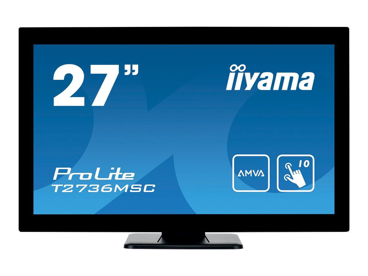 iiyama ProLite T2736MSC-B1 - LED-Monitor - 68.6 cm (27