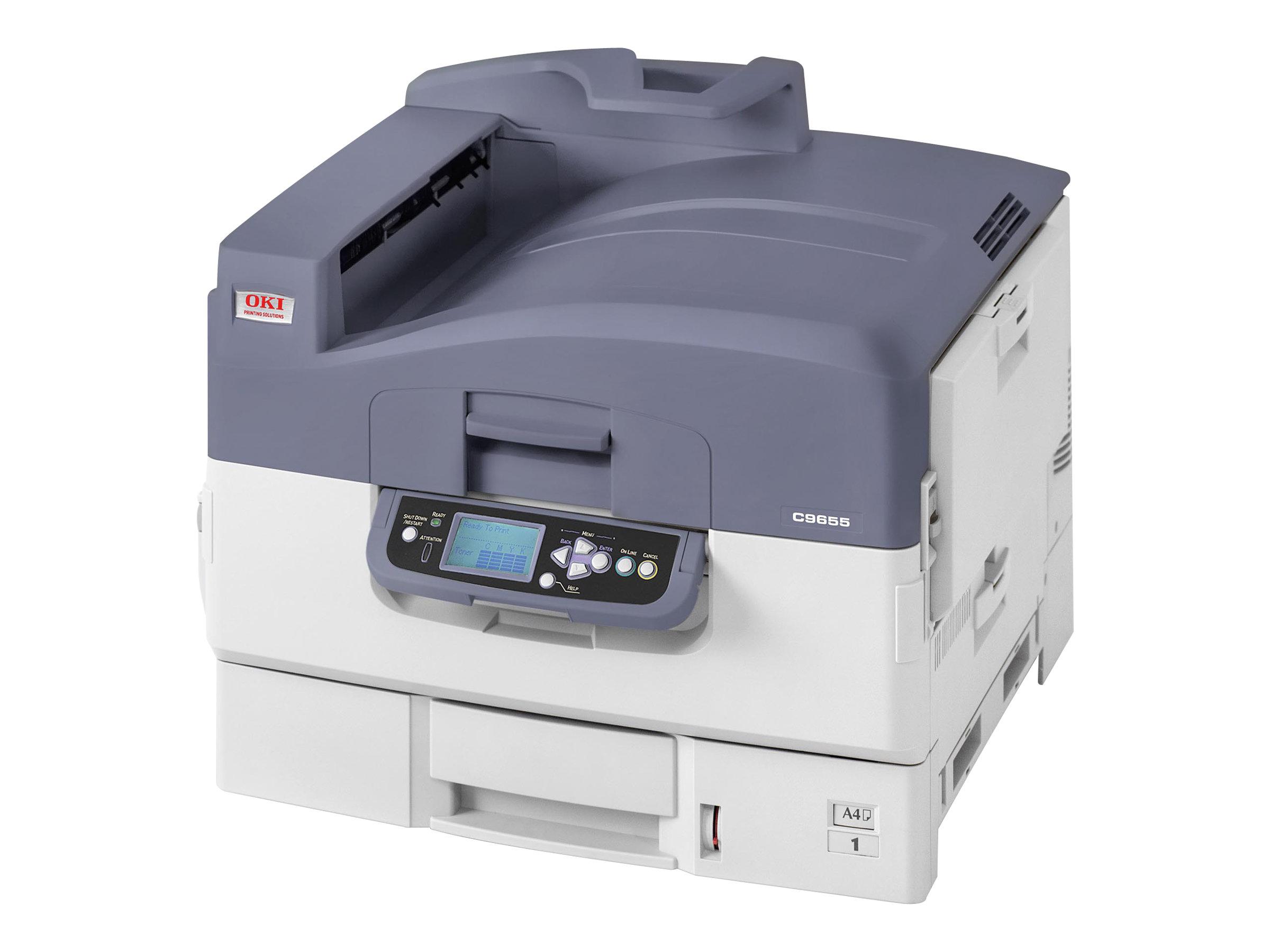 OKI C9655hdtn - Drucker - Farbe - Duplex - LED - A3