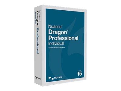 Dragon Professional Individual - (v. 15) - Box-Pack - 1 Benutzer - DVD - Win