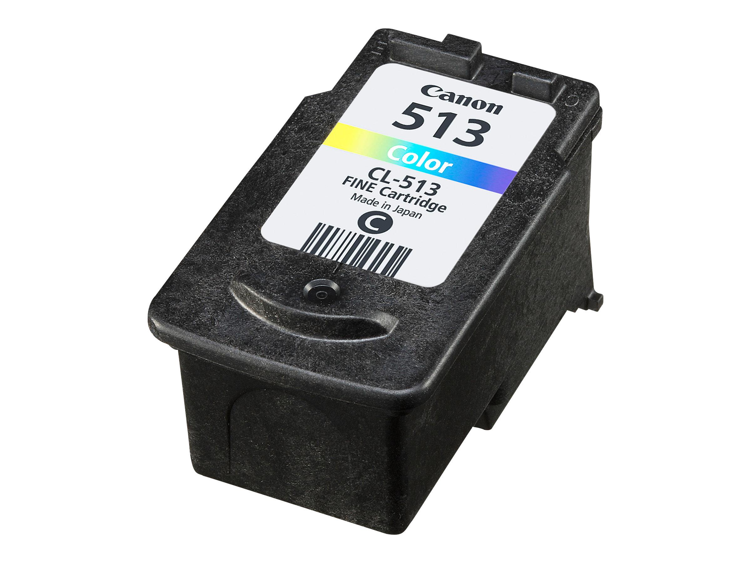 Canon CL-513 - Farbe (Cyan, Magenta, Gelb) - Original - Blister mit Diebstahlsicherung - Tintenbehälter - für PIXMA MP230, MP237