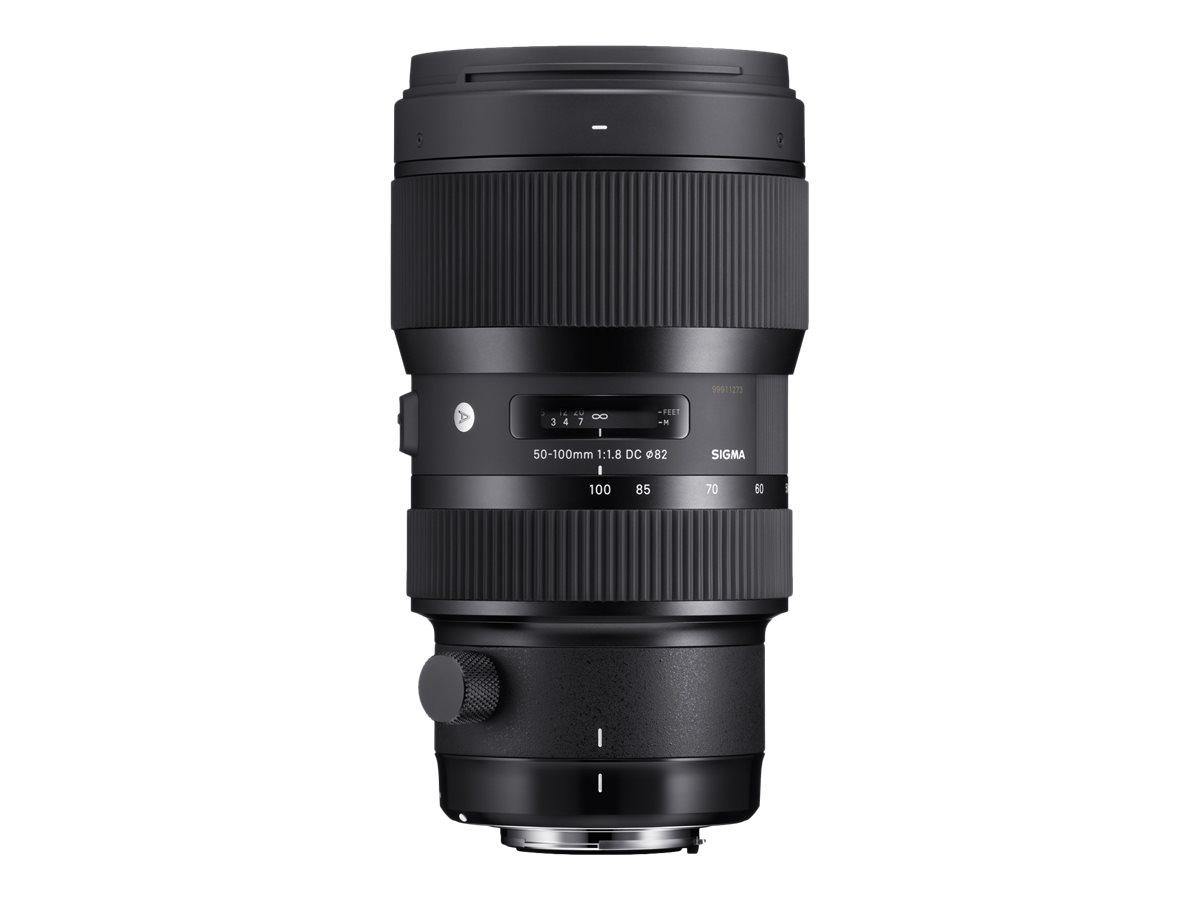 Sigma Art - Telezoomobjektiv - 50 mm - 100 mm - f/1.8 DC HSM - Canon EF/EF-S