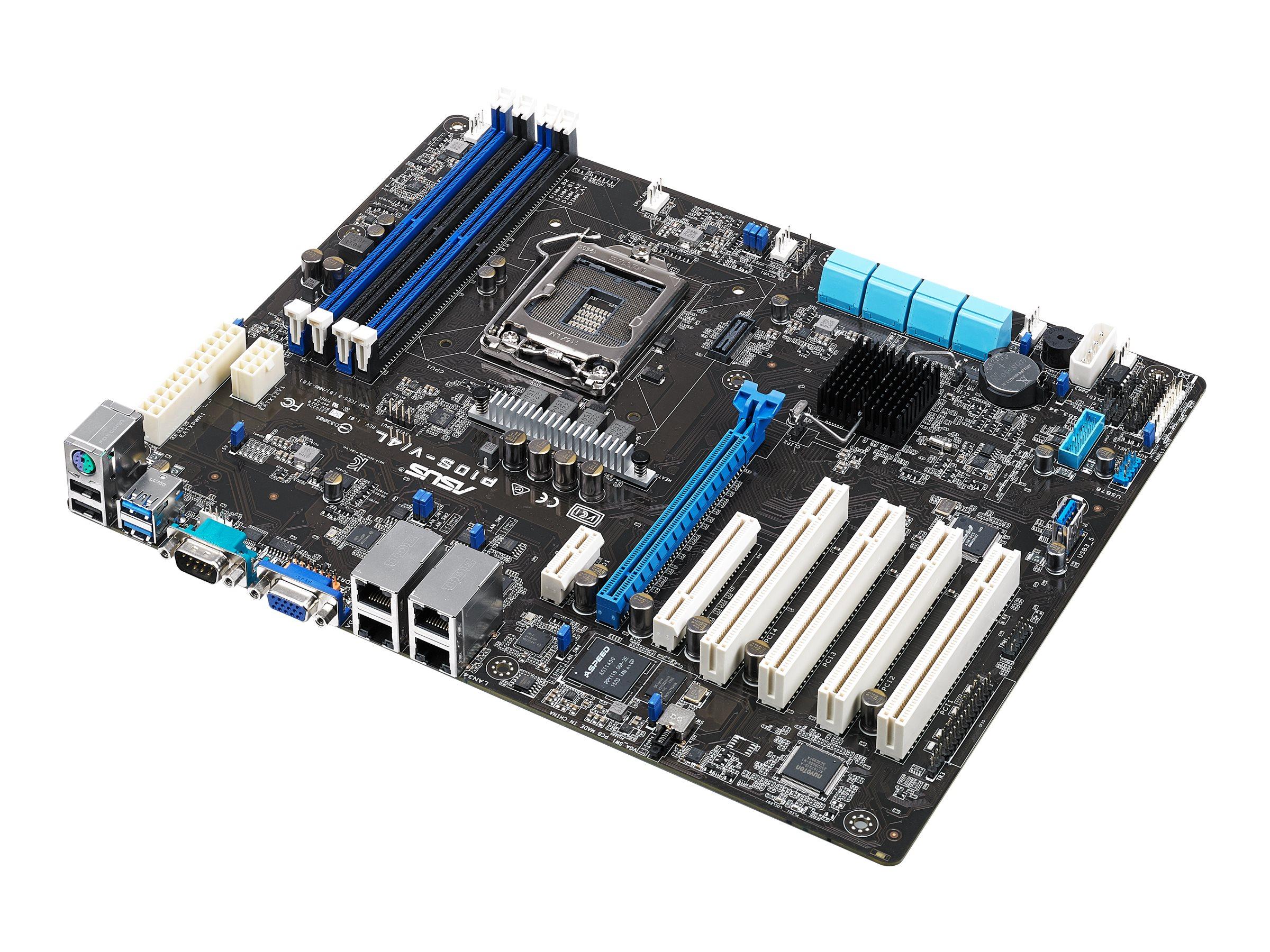 ASUS P10S-V/4L - Motherboard - ATX - LGA1151 Socket - C236 - USB 3.0