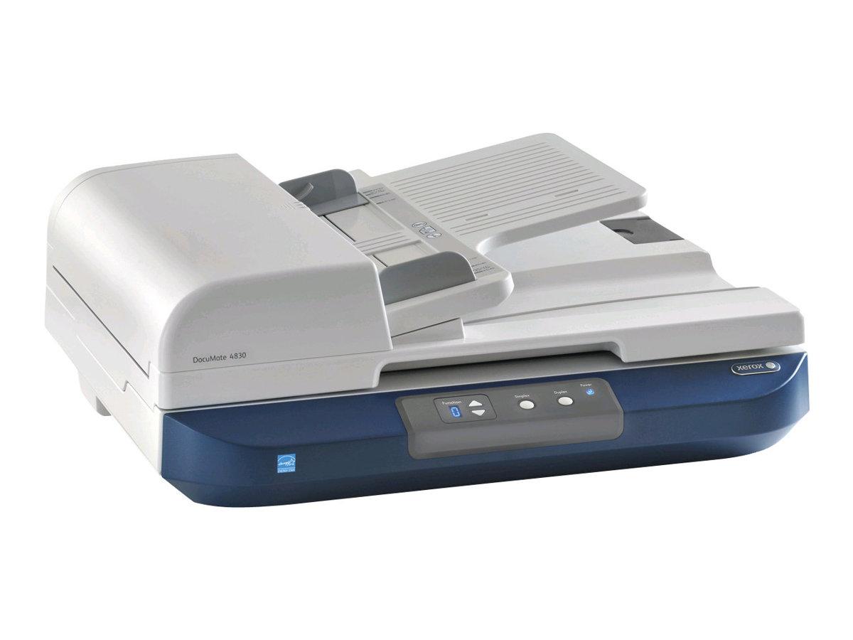Xerox DocuMate 4830 - Dokumentenscanner - Duplex - A3 - 600 dpi - bis zu 50 Seiten/Min. (einfarbig) / bis zu 30 Seiten/Min. (Far