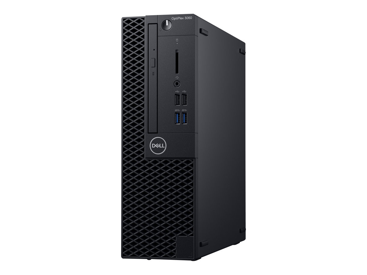 Dell OptiPlex 3060 - SFF - 1 x Core i5 8500 / 3 GHz - RAM 8 GB - SSD 256 GB - DVD-Writer