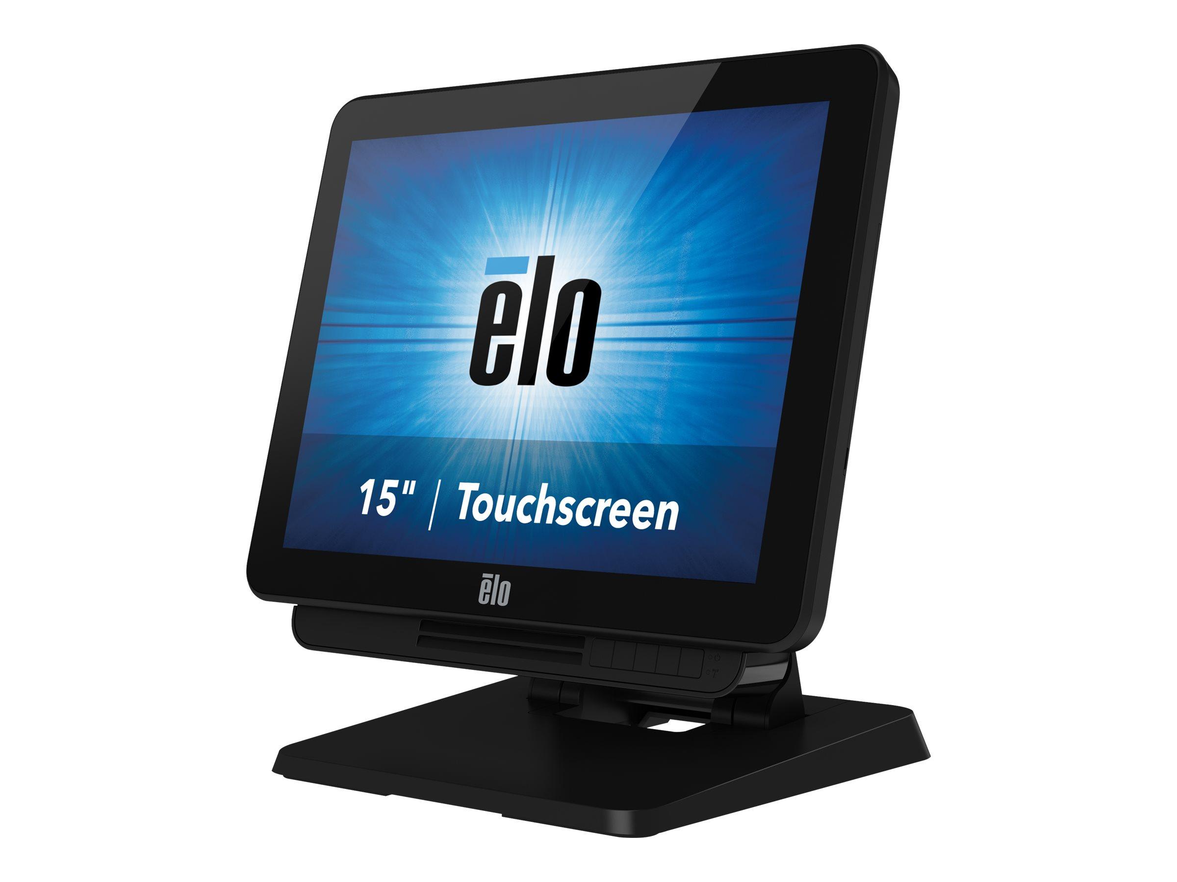 Elo X-Series Touchcomputer ESY15X3 - All-in-One (Komplettlösung) - 1 x Core i3 6100TE / 2.7 GHz - RAM 4 GB - SSD 128 GB - HD Gra