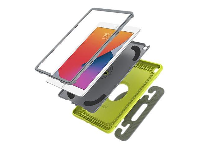 OtterBox Kids EasyGrab - Schutzhülle für Tablet - widerstandsfähig - Martian Green