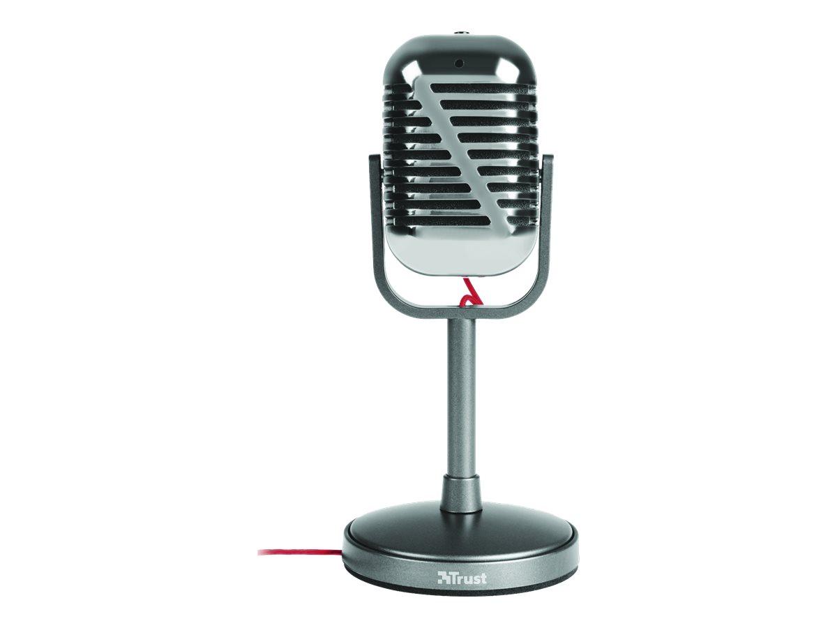 Trust Elvii Vintage - Mikrofon