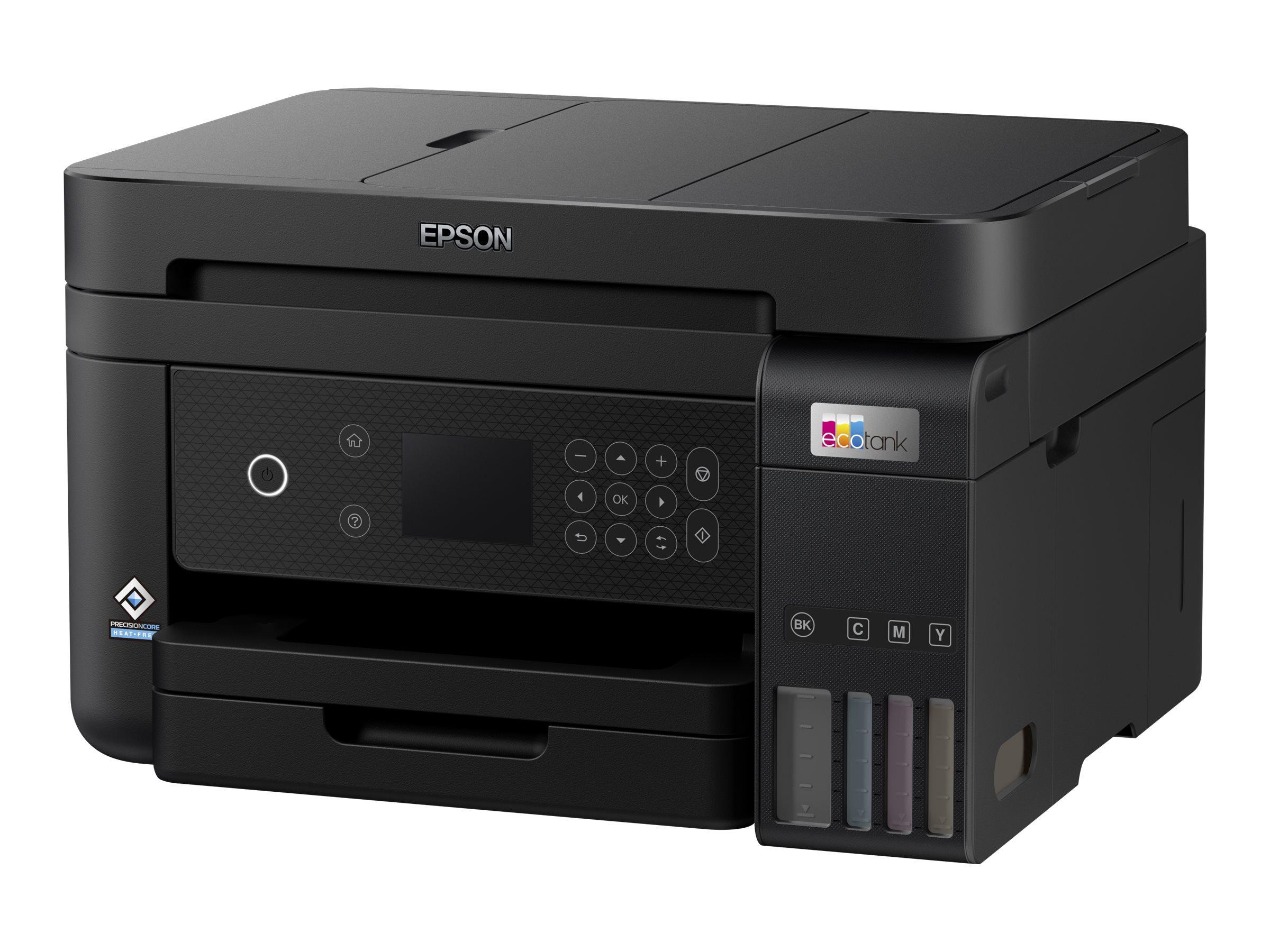 Epson EcoTank ET-3850 - Multifunktionsdrucker - Farbe - Tintenstrahl - A4/Legal (Medien) - bis zu 15.5 Seiten/Min. (Drucken)