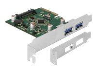 DeLOCK - USB-Adapter - PCIe 3.0 x4 Low-Profile - USB 3.1 Gen 2 x 2