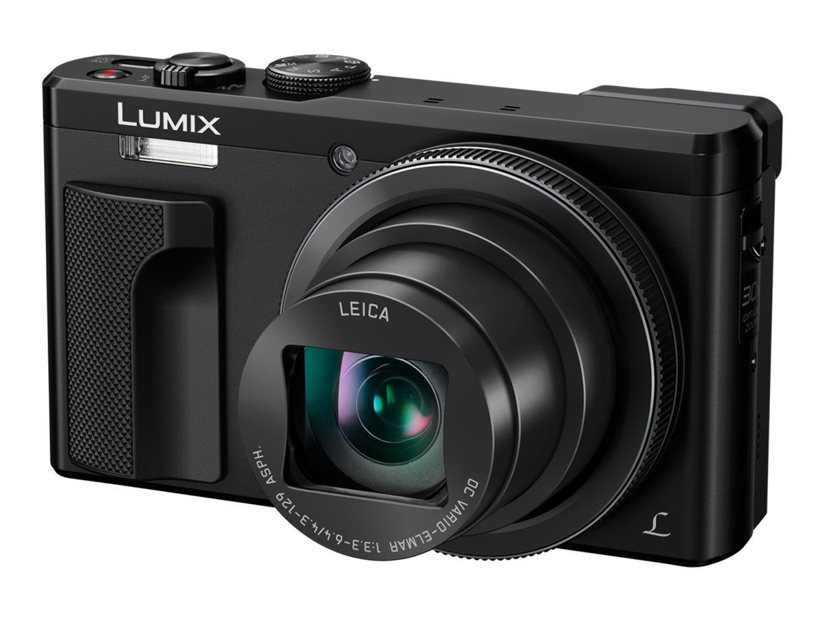Panasonic Lumix DMC-TZ81 - Digitalkamera - Kompaktkamera - 18.1 MPix - 4K / 25 BpS - 30x optischer Zoom