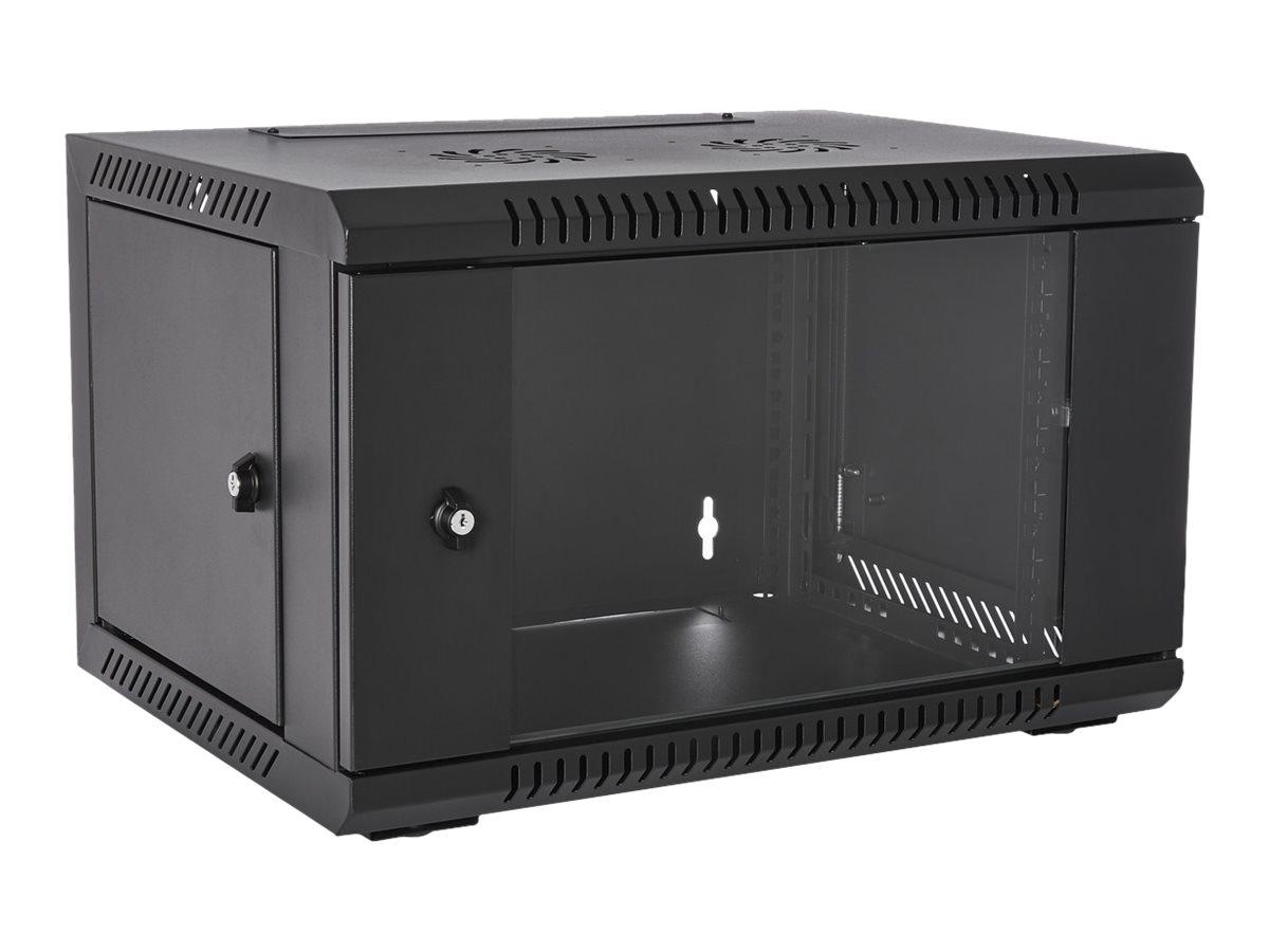 V7 RMWC6UG-1E - Schrank - Netzwerkschrank - geeignet für Wandmontage - 6U
