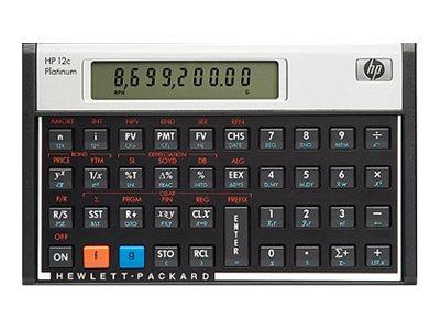 HP 12c Platinum Financial - Finanz-Taschenrechner - Batterie