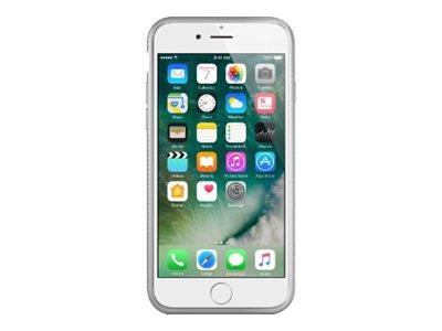 Belkin AIR PROTECT SheerForce - Hintere Abdeckung für Mobiltelefon - Thermoplastisches Polyurethan (TPU) - Silber - für Apple iP