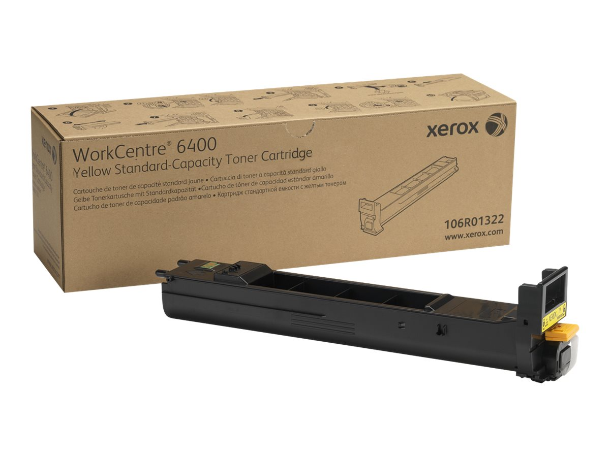 Xerox WorkCentre 6400 - Gelb - Original - Tonerpatrone - für WorkCentre 6400, 6400/XFM, 6400S, 6400SFS, 6400X, 6400XF, 6400XM