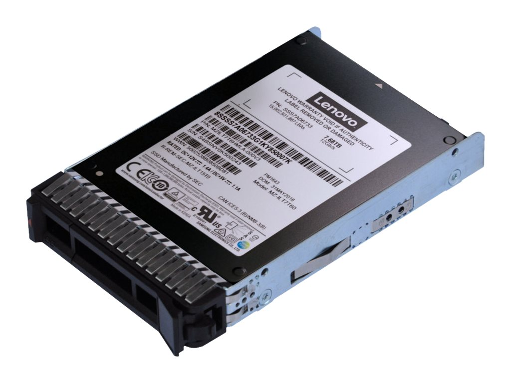 Lenovo ThinkSystem PM1643a Entry - Solid-State-Disk - 15.36 TB - Hot-Swap - 2.5