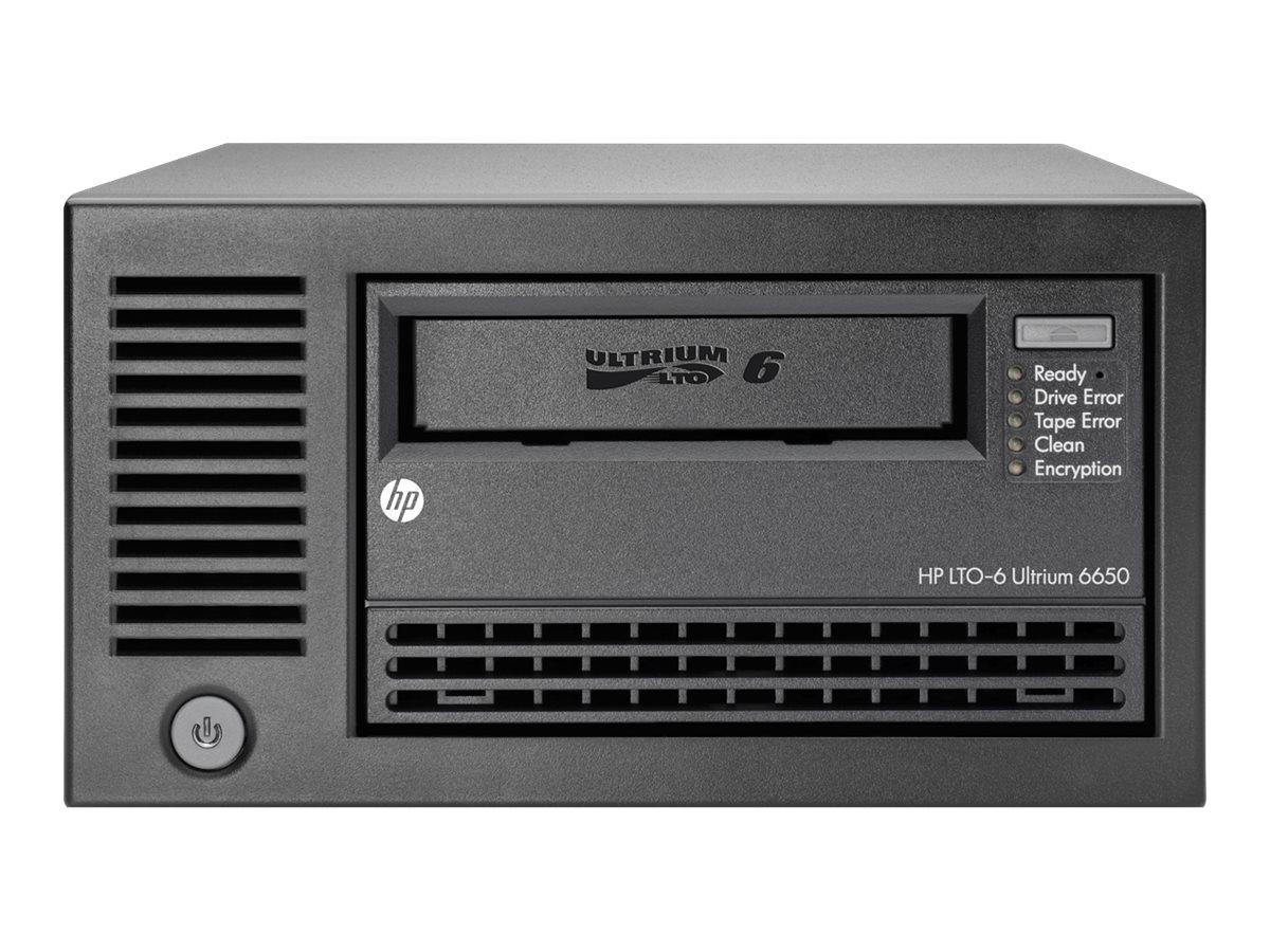 [Wiederaufbereitet] HPE StoreEver LTO-6 Ultrium 6650 - Bandlaufwerk - LTO Ultrium (2.5 TB / 6.25 TB) - Ultrium 6 - SAS-2 - exter
