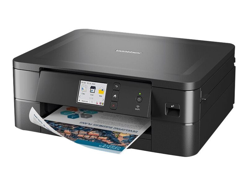 Brother DCP-J1140DW - Multifunktionsdrucker - Farbe - Tintenstrahl - A4/Letter (Medien) - bis zu 13 Seiten/Min. (Kopieren)
