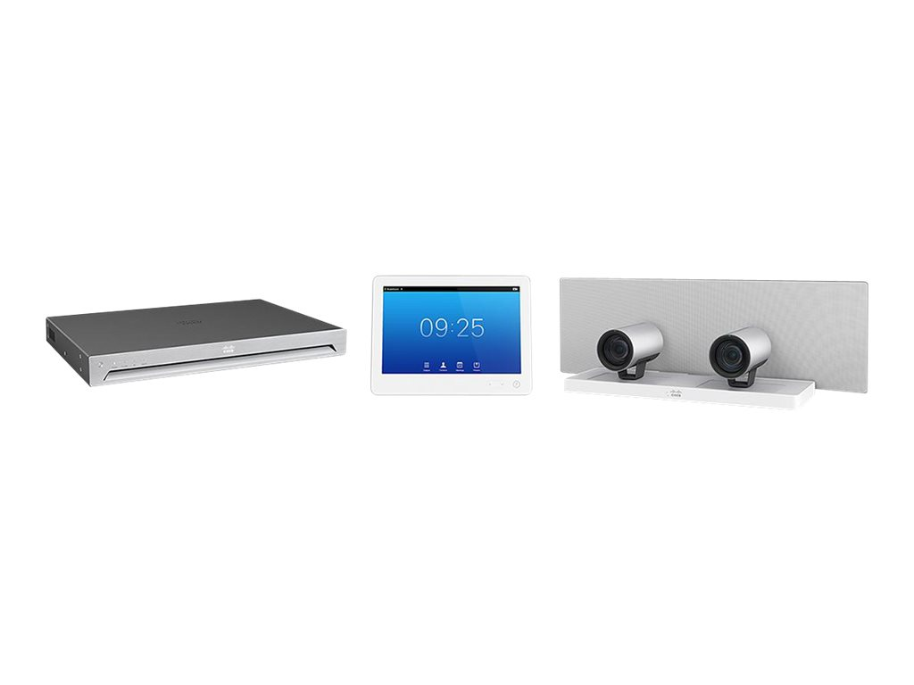 Cisco TelePresence Integrator Package with SX80 Codec, SpeakerTrack60 Microphone Array and Touch 10 - Kit für Videokonferenzen