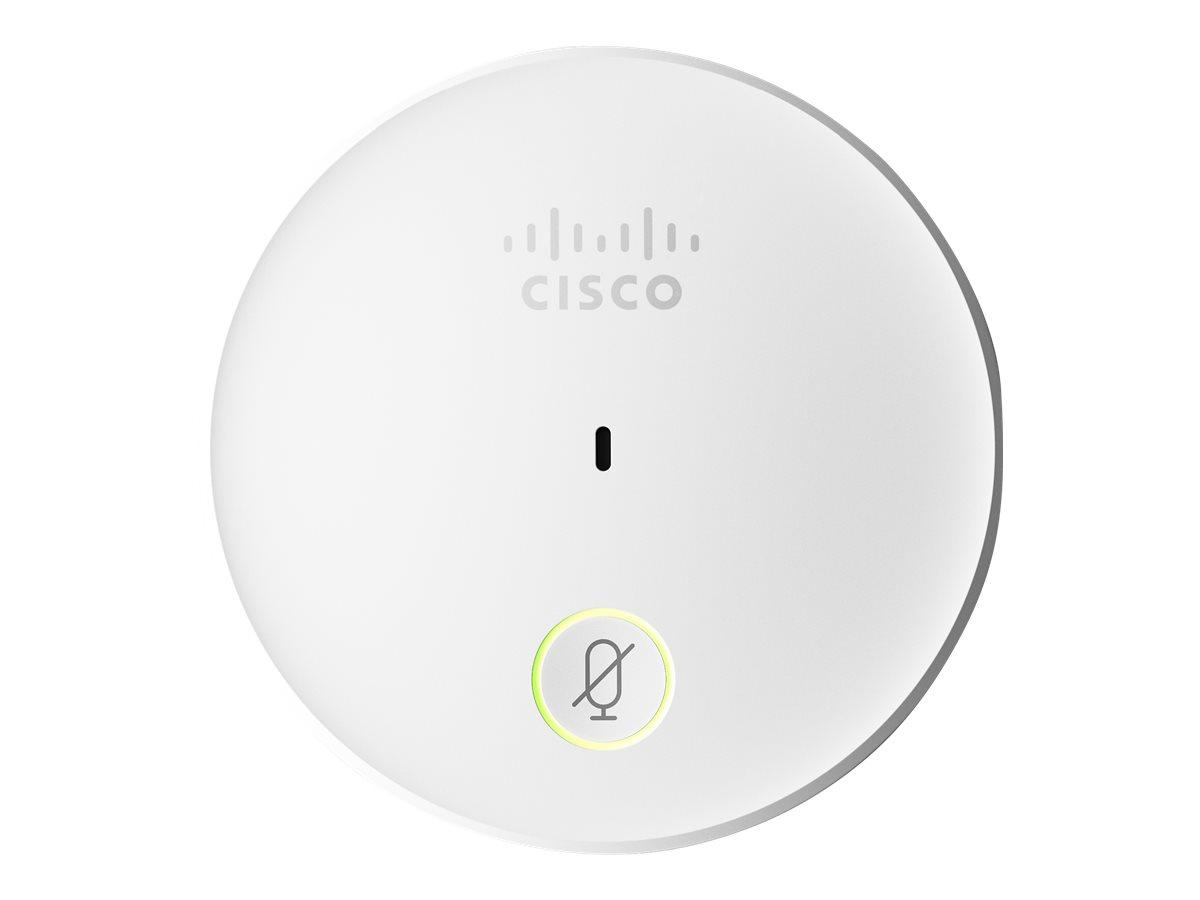 Cisco Telepresence Table - Mikrofon - für Spark Room 55, Room 70, Room Kit, Room Kit Plus, Codec Plus; TelePresence SX10; TelePr