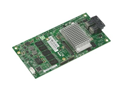 Supermicro AOM-S3108-H8 - Speichercontroller (RAID) - 8 Sender/Kanal - SAS 12Gb/s Low-Profile - 12 Gbit/s - RAID 0, 1, 5, 6, 10,
