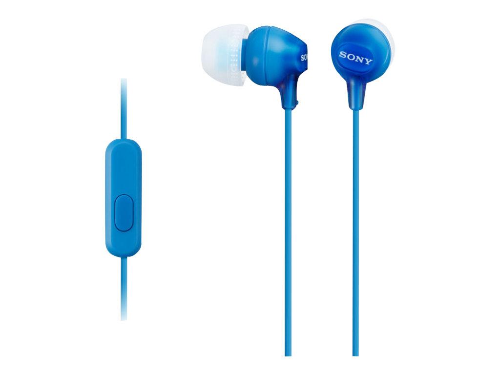 Sony MDR-EX15AP - EX Series - Ohrhörer mit Mikrofon - im Ohr - kabelgebunden - 3,5 mm Stecker