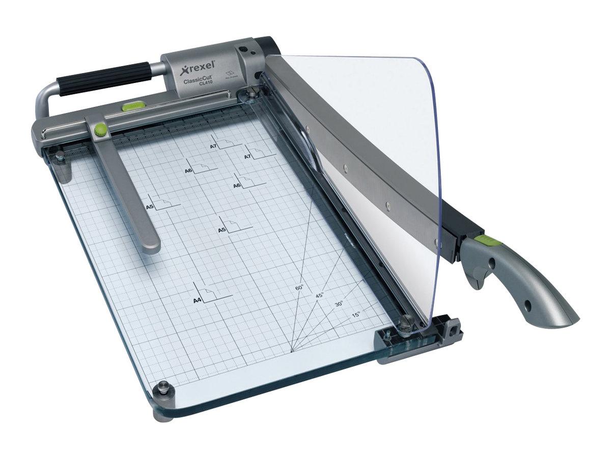 Rexel ClassicCut CL410 Laser Light Guillotine - Schneideeinrichtung - 380 mm - Papier