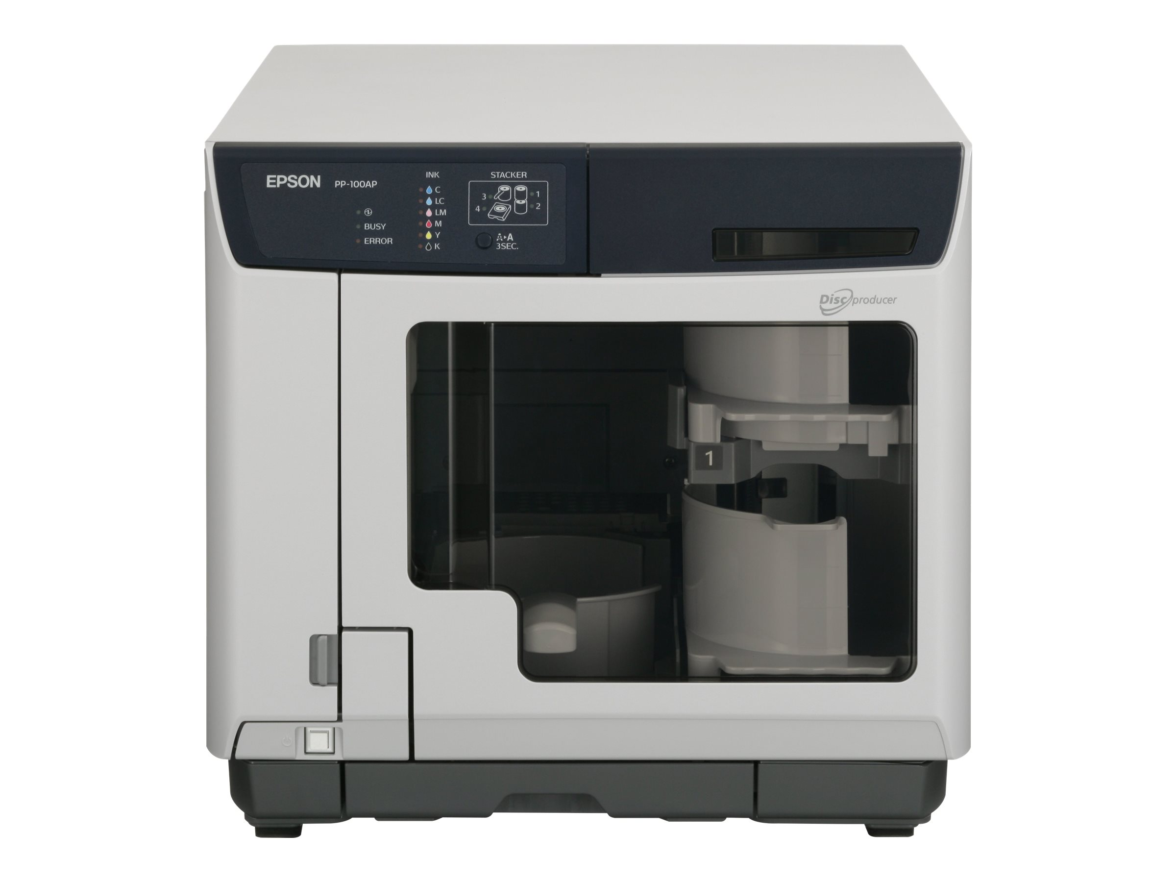 Epson Discproducer PP-100AP - CD/DVD-Drucker - Farbe - Tintenstrahl - CD (120 mm) - 1.440 dpi