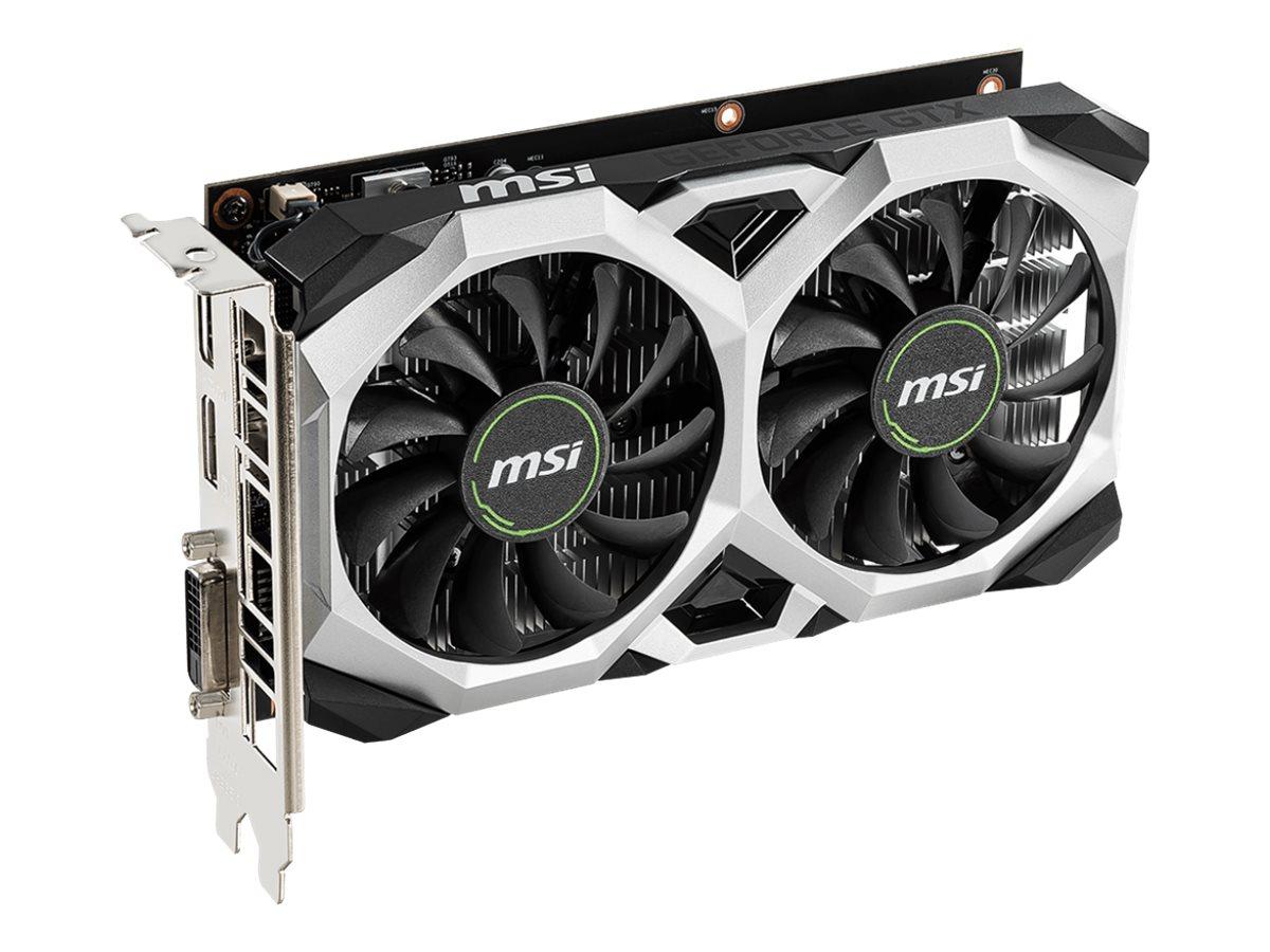MSI GTX 1650 VENTUS XS 4G OC - Grafikkarten - GF GTX 1650 - 4 GB GDDR5 - PCIe 3.0 x16 - DVI, HDMI, DisplayPort