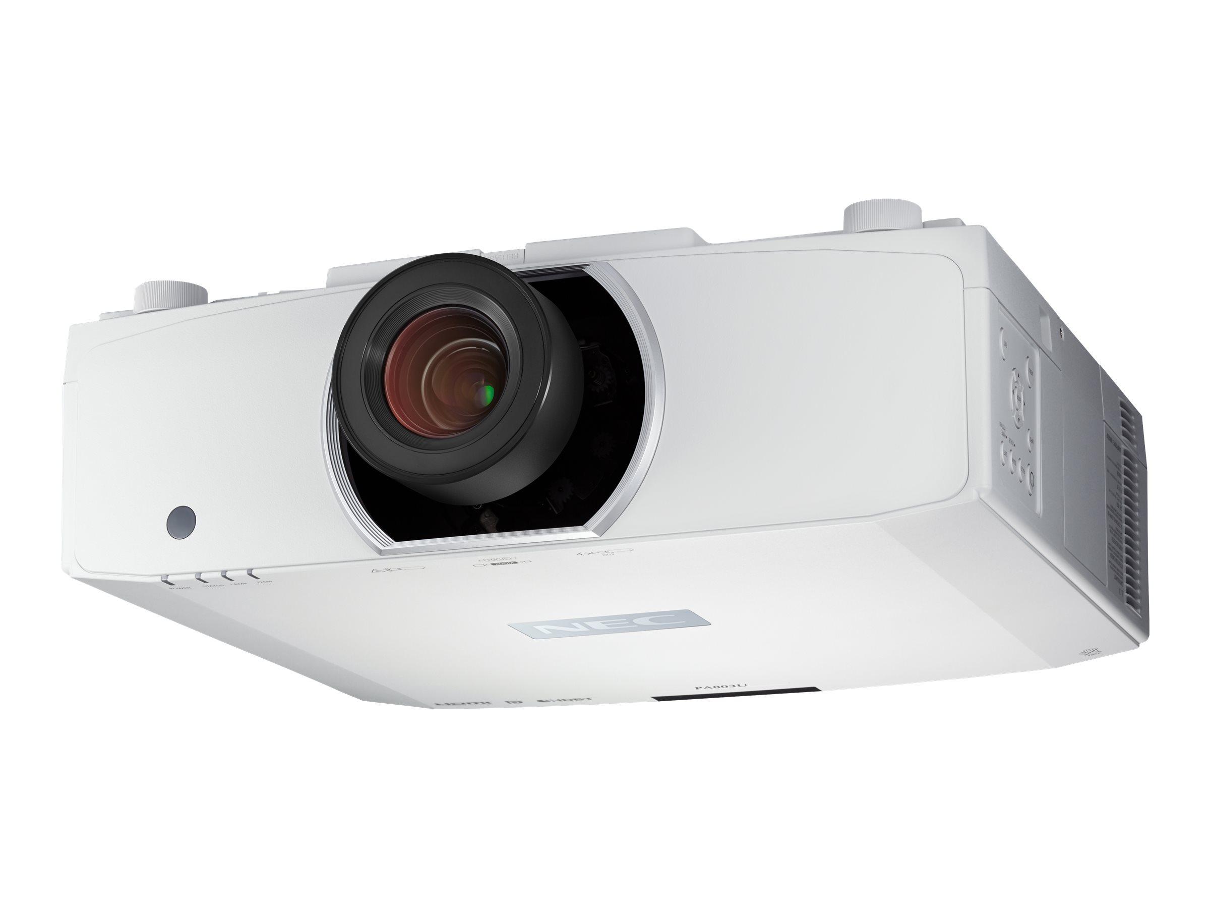 NEC PA653U - 3-LCD-Projektor - 3D - 6500 ANSI-Lumen - WUXGA (1920 x 1200) - 16:10