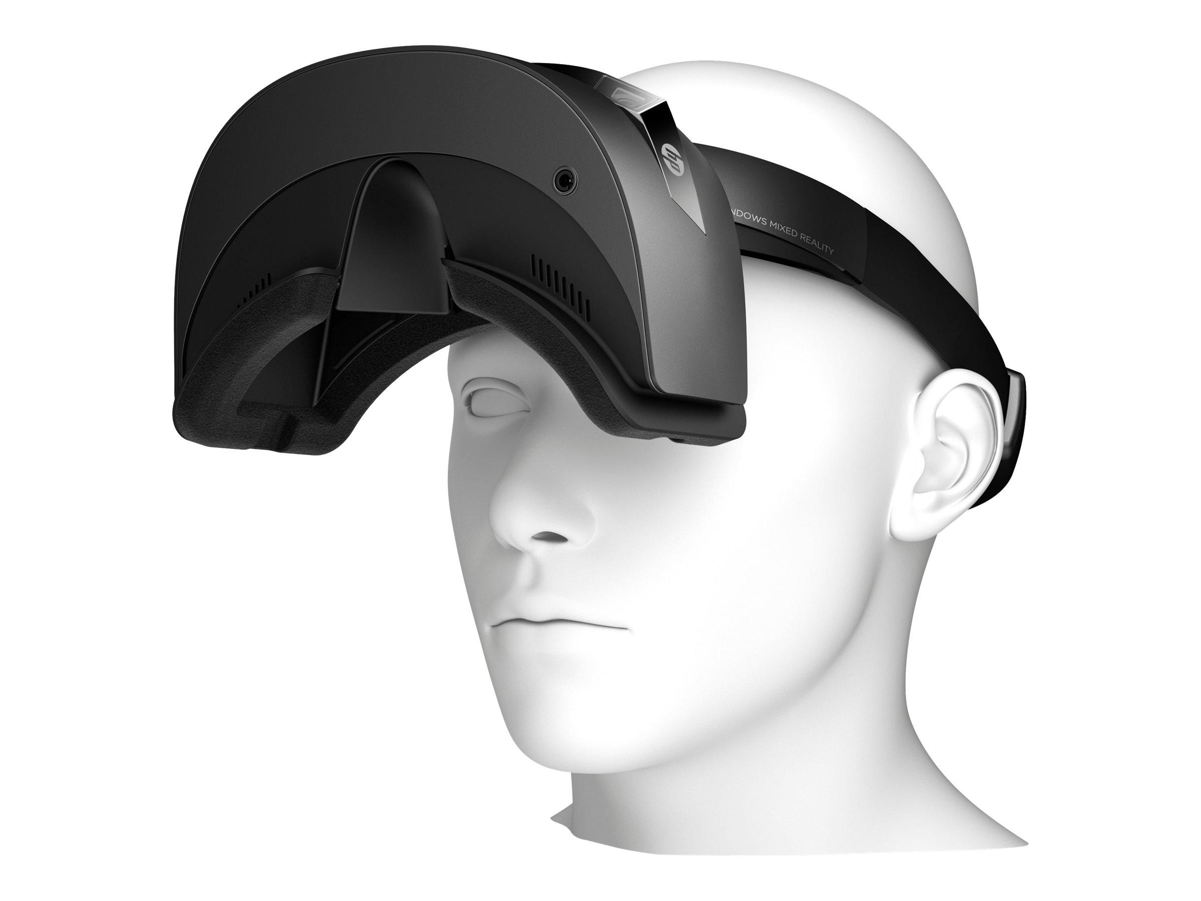 HP Windows Mixed Reality Headset VR1000-100nn - Virtual-Reality-Headset - tragbar - 1440 x 1440 - HDMI - Jet Black