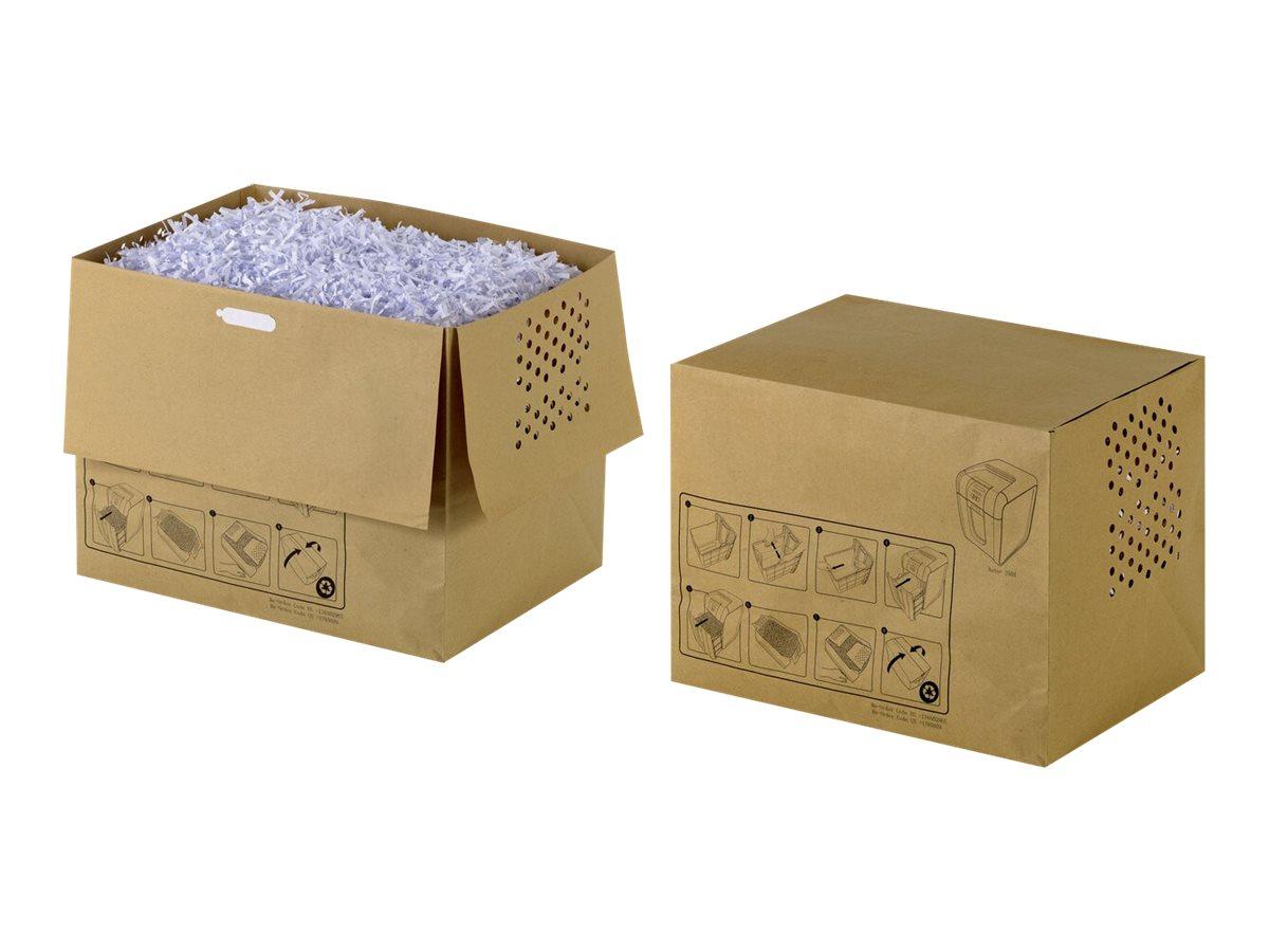 Rexel Recyclable Shredder Waste Sacks 40L - Müllbeutel - beige (Packung mit 20)