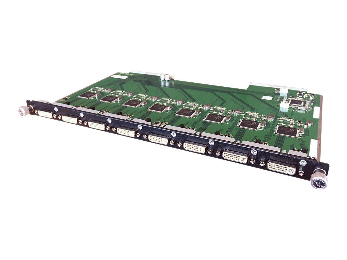 Lindy 8 Port DVI-D Input Modular Board - Erweiterungsmodul - DVI-D x 8