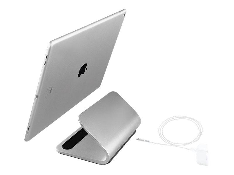 Logitech BASE - Ladeständer - 2.4 A (Smart Connector) - für Apple 12.9-inch iPad Pro (1. Generation, 2. Generation); 9.7-inch iP