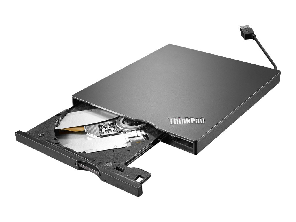 Lenovo ThinkPad UltraSlim USB DVD Burner - Laufwerk - DVD±RW (±R DL) / DVD-RAM - SuperSpeed USB 3.0 - extern - CRU