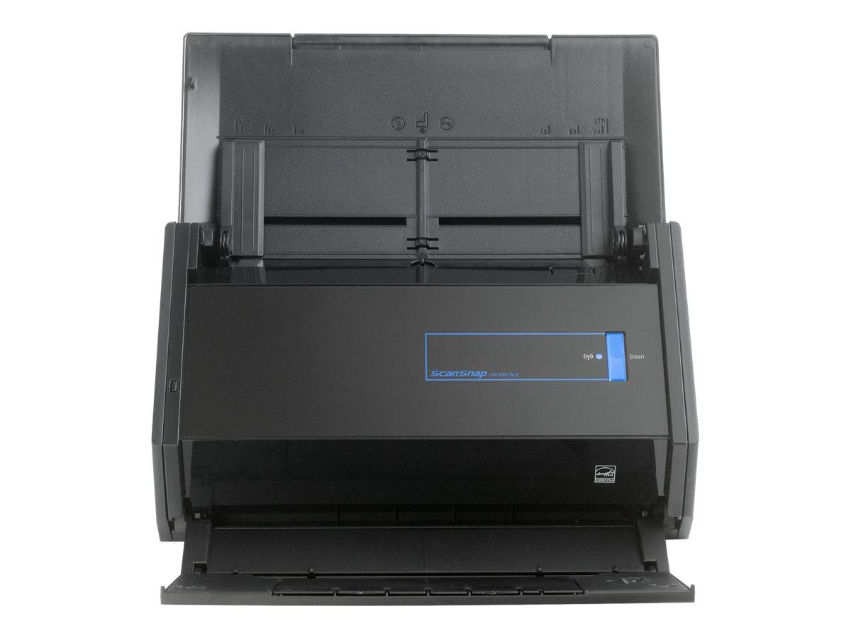 Fujitsu ScanSnap iX500 - Dokumentenscanner - Duplex - 216 x 863 mm - 600 dpi x 600 dpi - bis zu 25 Seiten/Min. (einfarbig) / bis