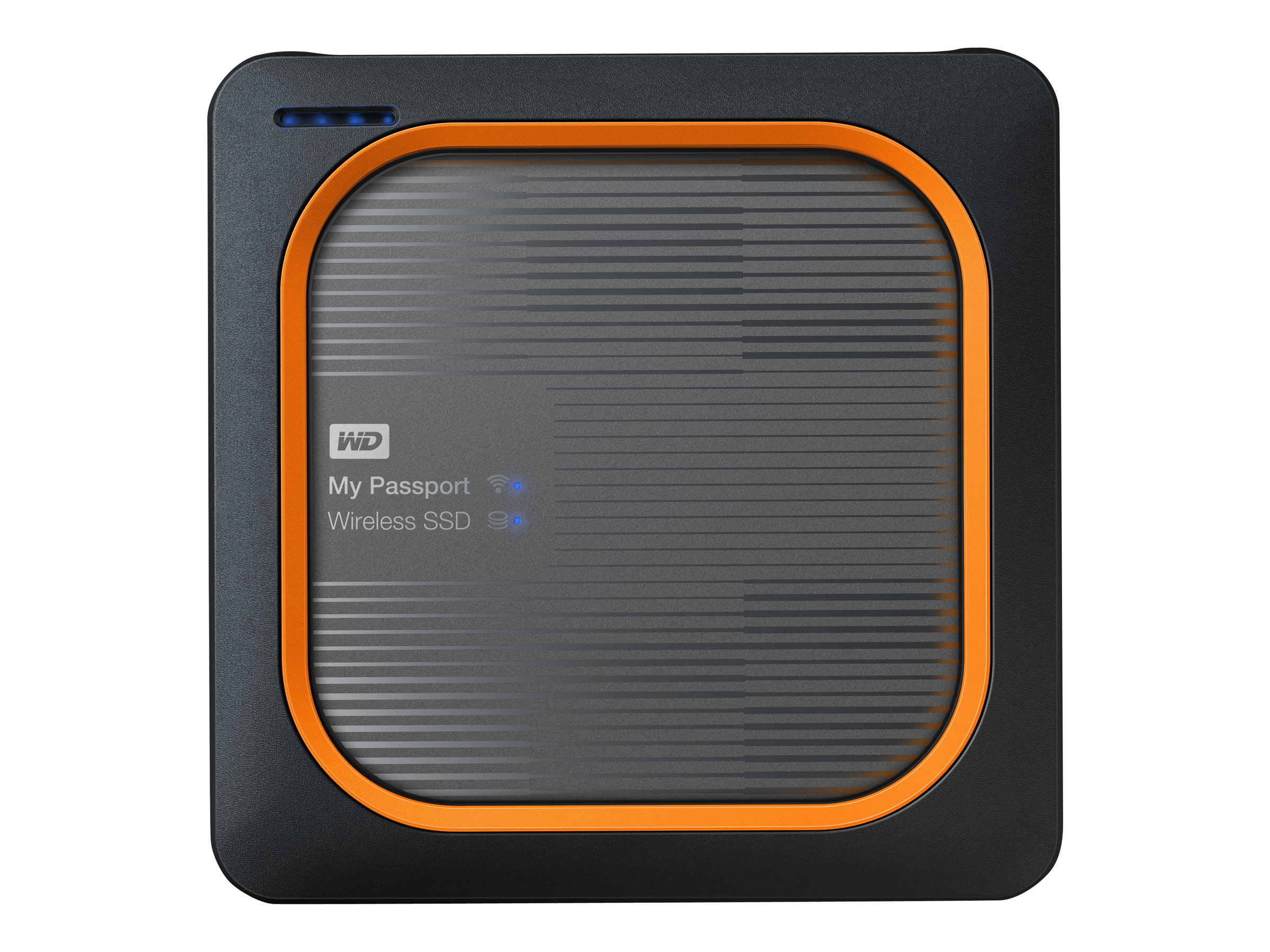 WD My Passport Wireless SSD WDBAMJ0010BGY - Mobiler Wireless-Speicher - 1 TB - SSD 1 TB x 1 - USB 3.0 / 802.11ac