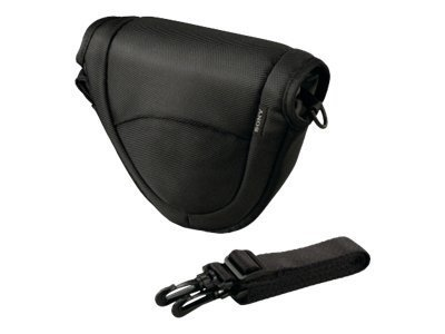 Sony LCS-EMC - Tasche für Digitalkamera mit Objektiven - Schwarz - für Cyber-shot DSC-RX100; a NEX 3A, 3D, 3K, 5A, 5D, 5K, 7, 7K