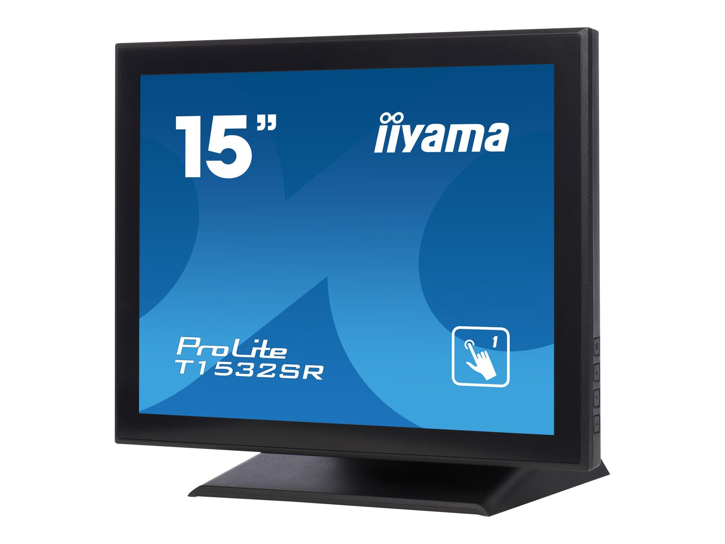 iiyama ProLite T1532SR-B5 - LED-Monitor - 38 cm (15