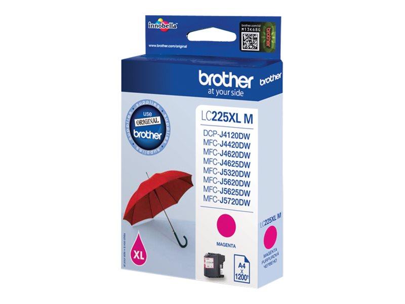 Brother LC-225XLM - Magenta - Original - Tintenpatrone - für Brother DCP-J4120, MFC-J4420, J4620, J5320, J5625, J5720; Business