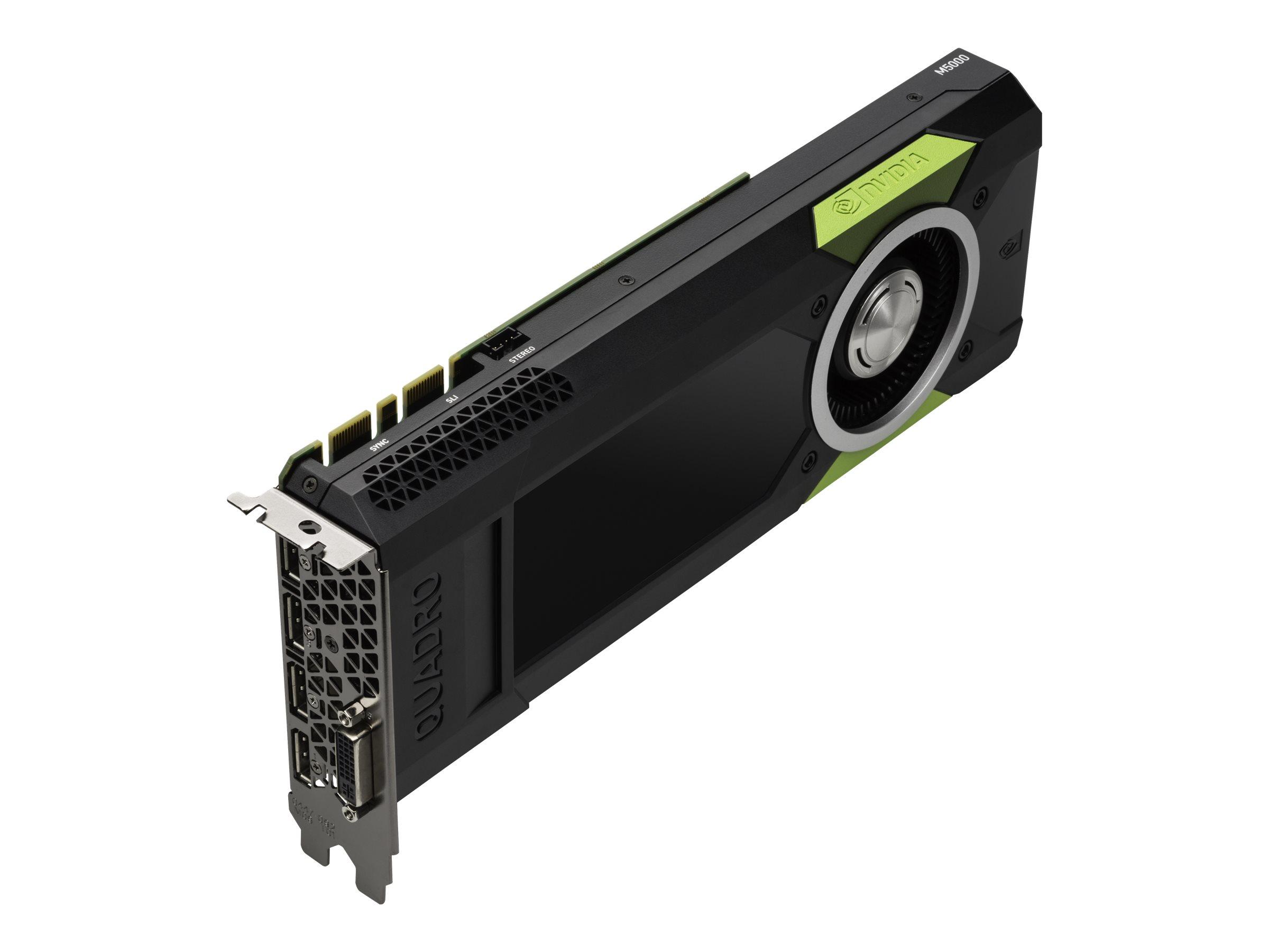 NVIDIA Quadro M5000 Sync - Grafikkarten - Quadro M5000 - 8 GB GDDR5 - PCIe 3.0 x16 - DVI, 4 x DisplayPort