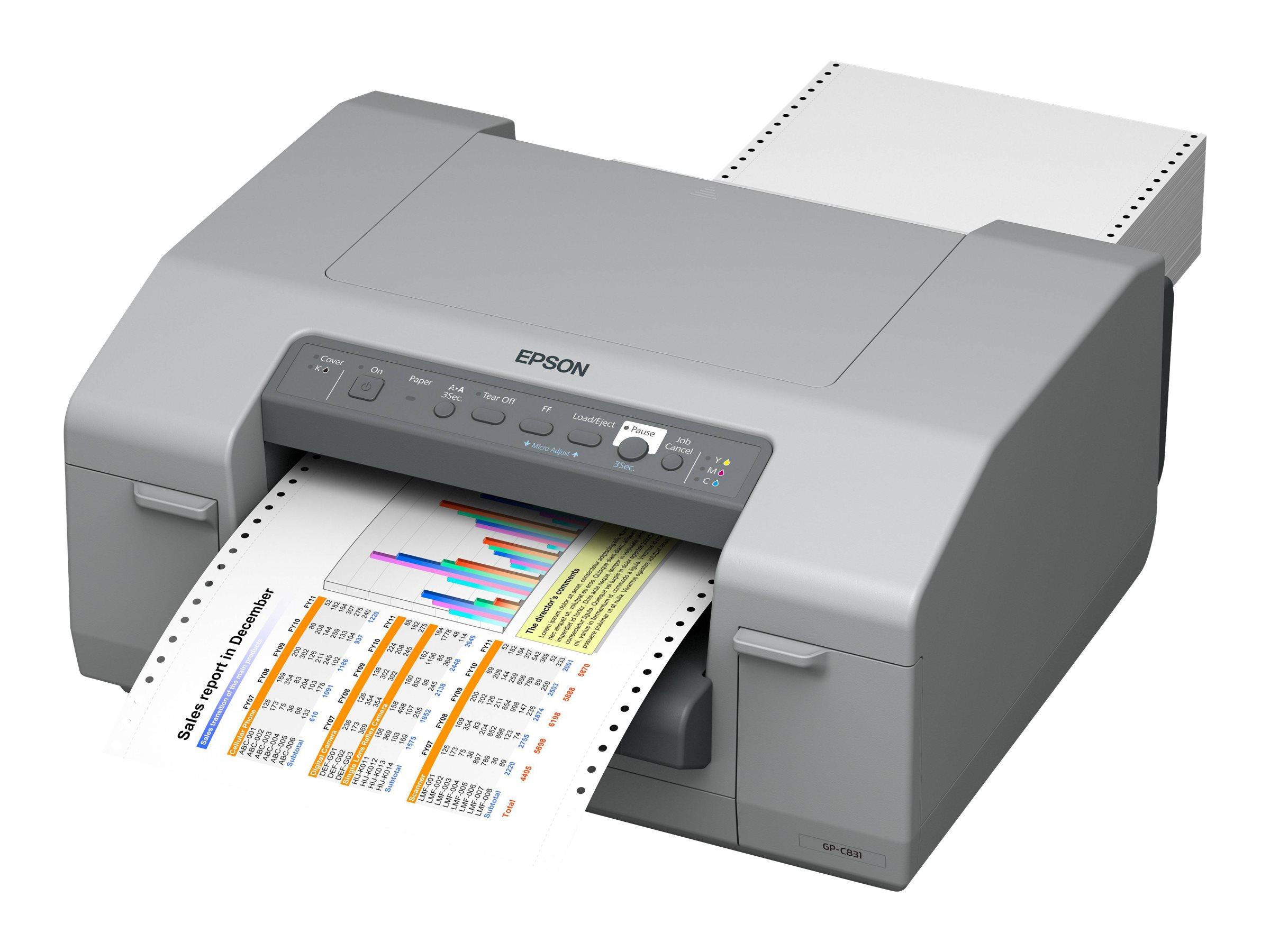 Epson GP-C831 - Etikettendrucker - Farbe - Tintenstrahl - 241 mm (Breite) - 5760 x 1440 dpi