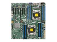 SUPERMICRO X10DRH-I - Motherboard - Erweitertes ATX - LGA2011-v3-Sockel - 2 Unterstützte CPUs - C612