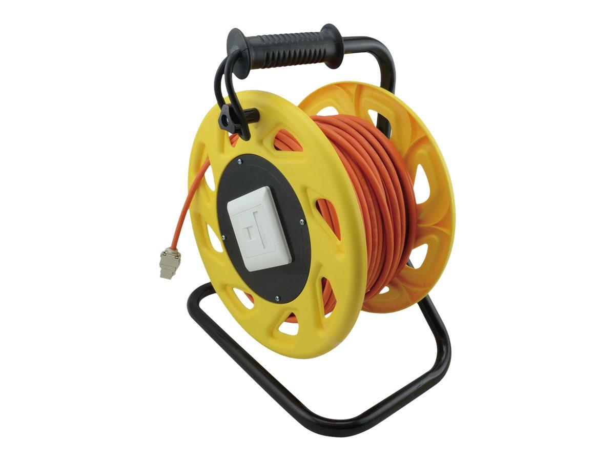 Roline - Netzwerkverlängerungskabel - RJ-45 (W) bis RJ-45 (W) - 60 m - SFTP, PiMF - CAT 7 (Kabel) / CAT 6a (Anschlüsse)