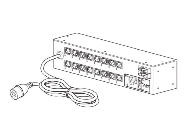 APC Switched Rack PDU AP7922B - Stromverteilungseinheit (Rack - einbaufähig) - Wechselstrom 230 V - Ethernet 10/100 - Eingabe, E
